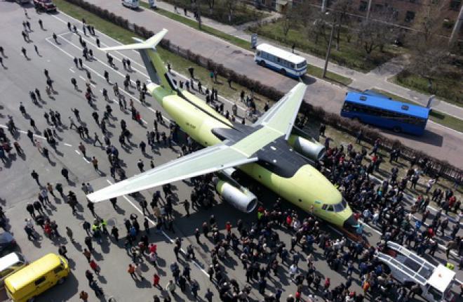 На Украине выкатили самолет Ан-178
