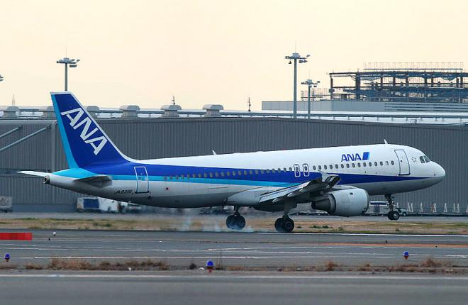 A320neo авиакомпании ANA