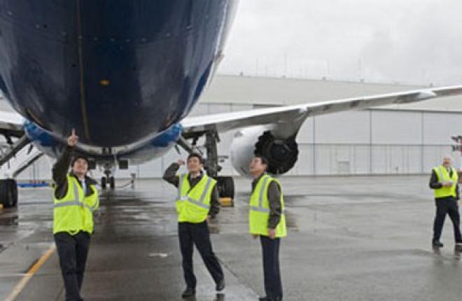 Пилоты японской авиакомпании ANA завершили обучение на самолете Boeing 787