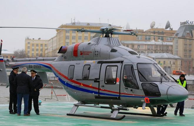"""вертолет """"Ансат"""" компании РВС"""