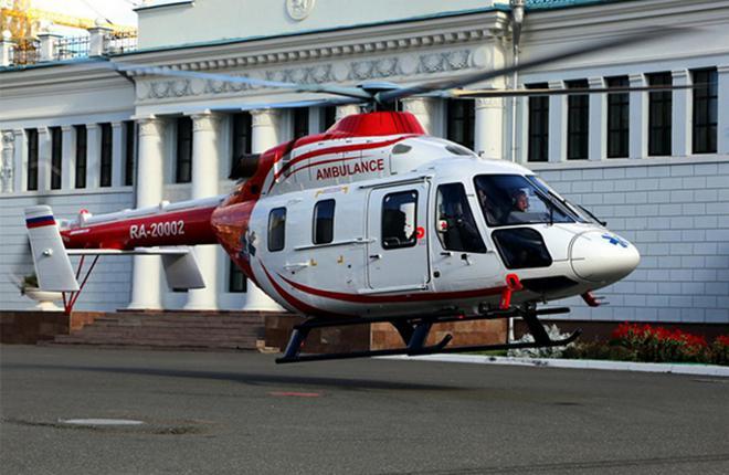 """Вертолет """"Ансат"""" для Республиканской клинической больницы Татарстана"""