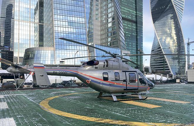 В парке РВС два вертолета «Ансат»