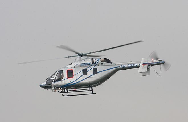 """Это последний вертолет """"Ансат"""" в рамках соглашения между """"Вертолетами России"""" и ГТЛК в 2017 году :: Transport-photo.com"""