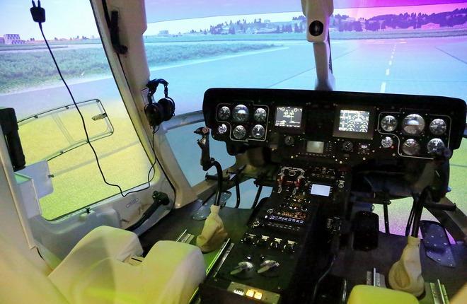 комплексный тренажер вертолета «Ансат»
