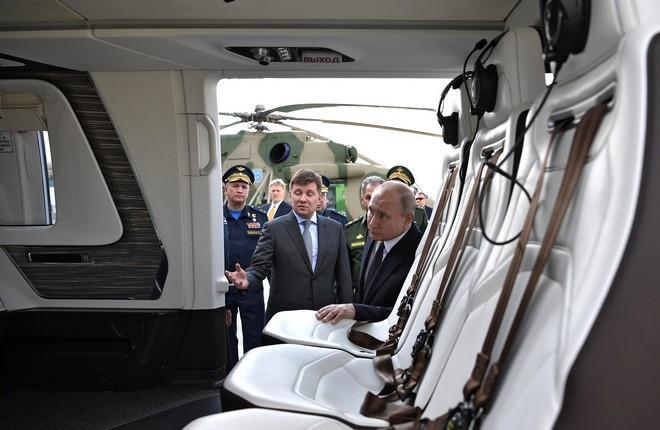 "VIP-салон вертолета ""Ансат"""