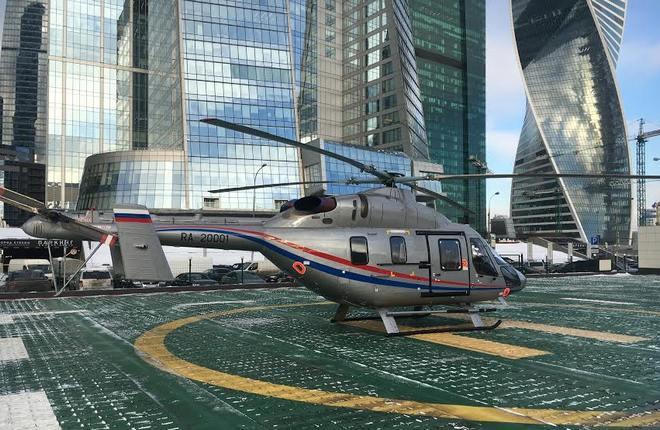 """""""Русские вертолетные системы"""" получили медицинский """"Ансат"""""""