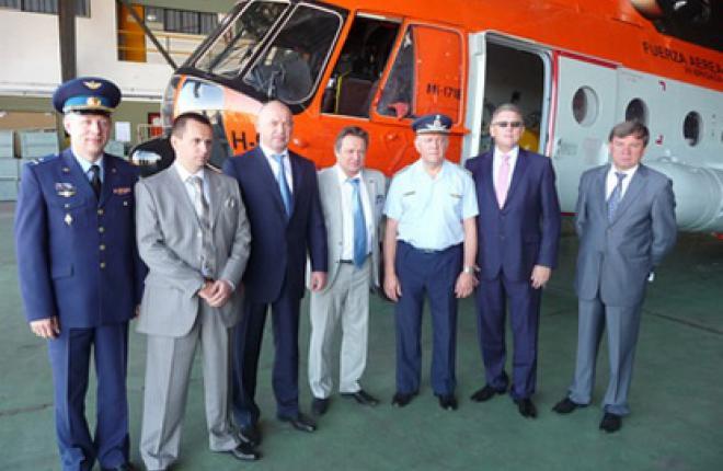 Два вертолета Ми-171Е  поставлены в Аргентину