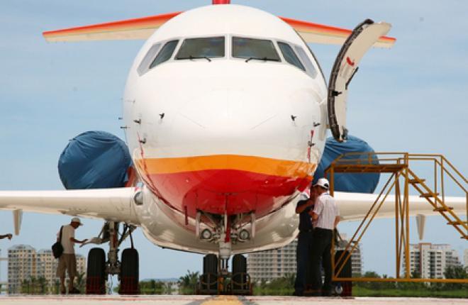 Первый серийный самолет ARJ21 поднялся в небо