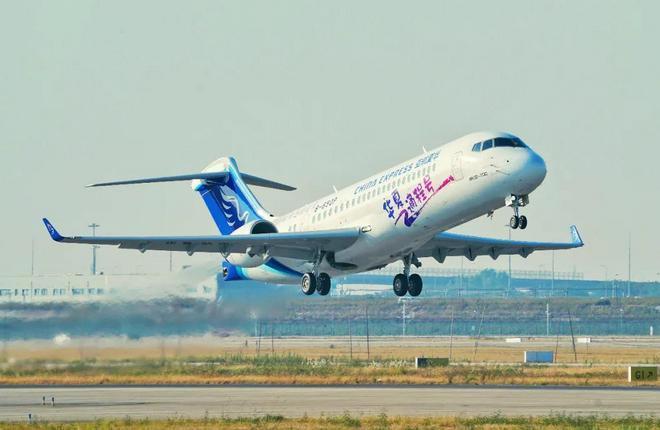 Первый самолет ARJ21 авиакомпании China Express