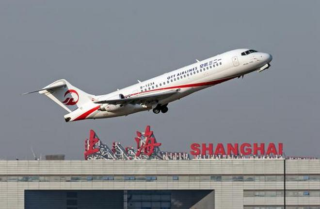 Во флоте OTT Airlines, дочернем предприятии China Eastern Airlines, уже три ARJ21
