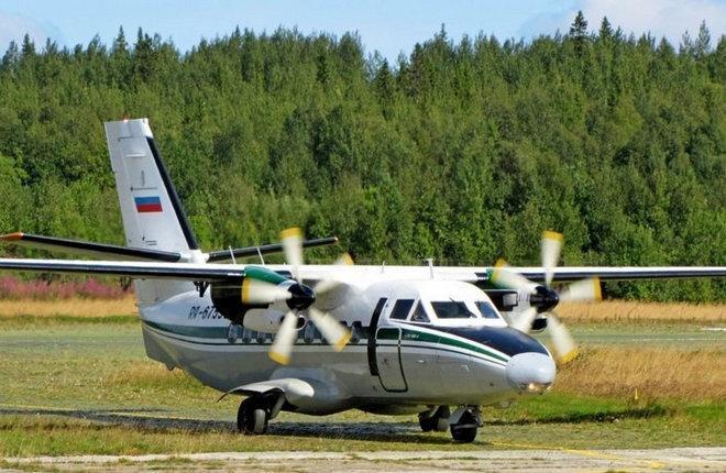 Самолет L-410UVP-E Второго архангельского объединенного авиаотряда