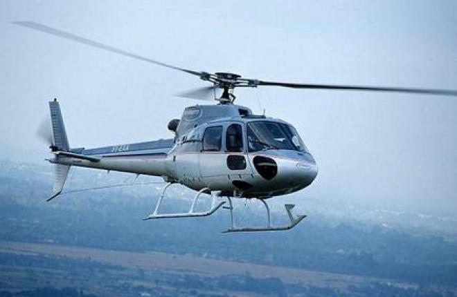 В Омск поставили учебные вертолеты AS350 В2