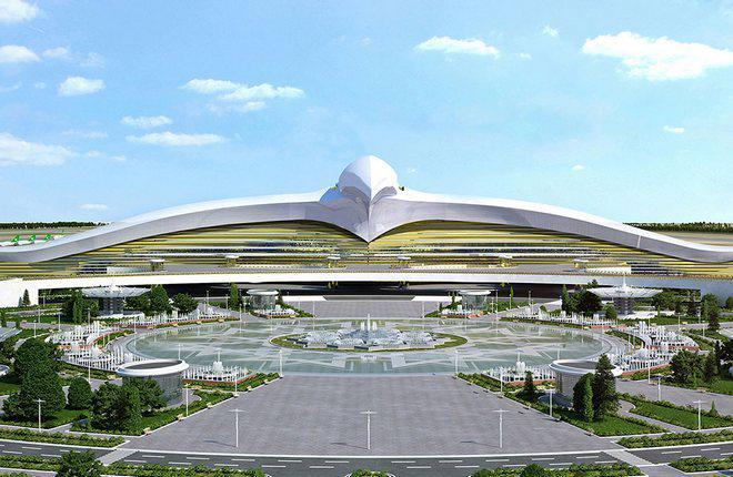В Ашхабаде открылся новый международный аэропорт