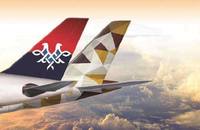 Ближневосточный перевозчик Etihad Airways остался акционером Air Serbia