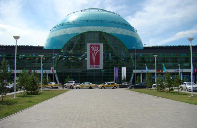 Терминал аэропорта Астана