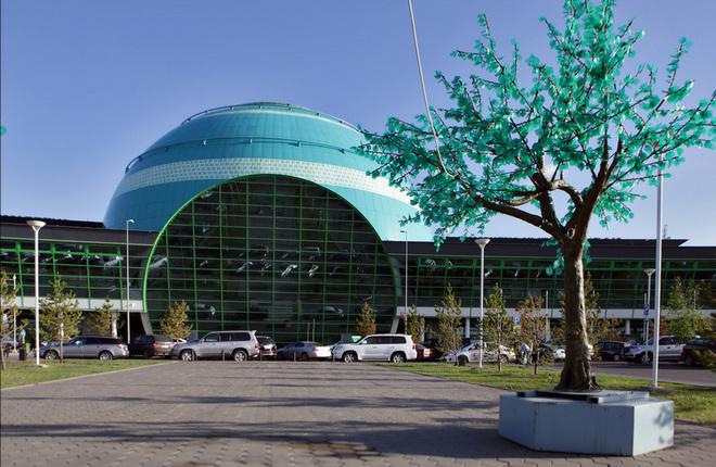 Терминал аэропорта Астаны