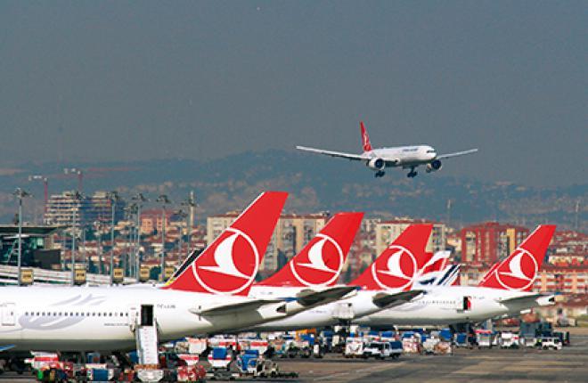 Стамбул предоставляет возможность выполнять беспосадочные перелеты в города Европы, Азии и Африки в радиусе 3000 км