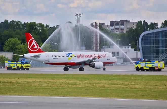 Авиакомпания AtlasJet Ukraine