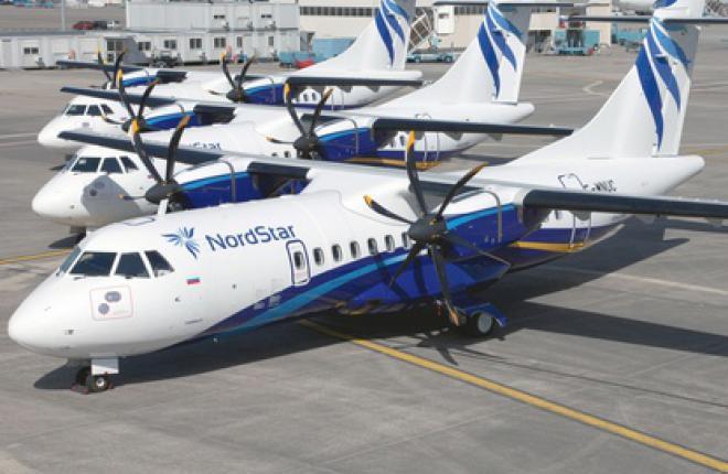 NordStar заказала еще три самолета ATR 42-600