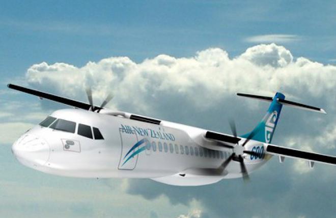 Авиакомпания Air New Zealand  получит 12 региональных самолетов ATR 72-600