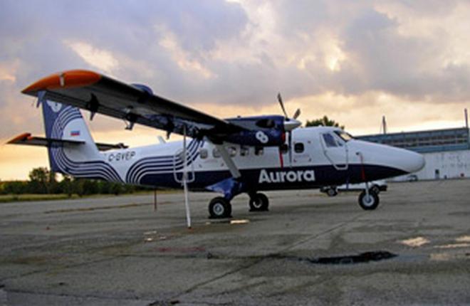 "Парк Twin Otter авиакомпании ""Аврора"" расширят до 32 самолетов"