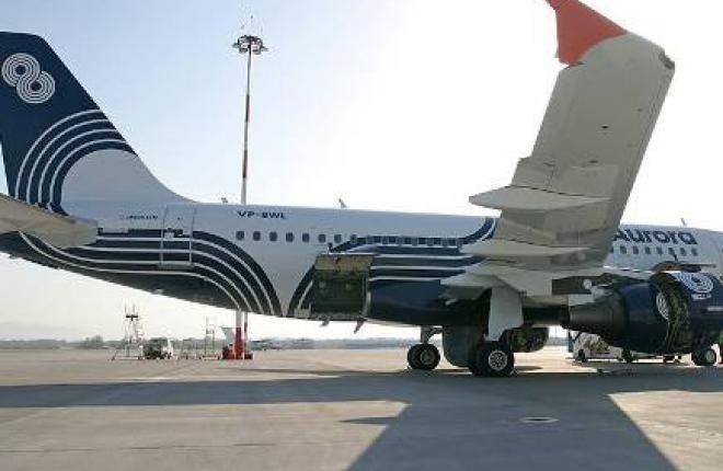 """Авиакомпания """"Аврора"""" получила пятый Airbus A319"""