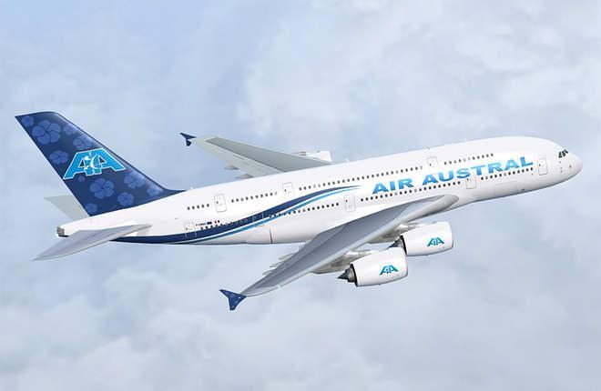Air Austral отменила заказ на A380 с рекордно плотной компоновкой