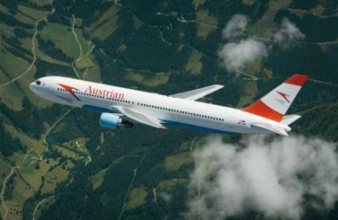 Авиакомпания Austrian Airlines вышла на прибыльность