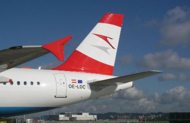 Пассажиропоток Austrian Airlines на российских направлениях в 2011 г. превысил 3