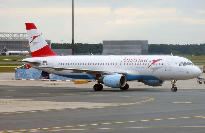 Aribus A320 Austrian Arilines
