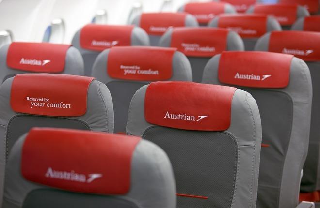 Однотипные сиденья на самолетах всех авиакомпаний группы Lufthansa