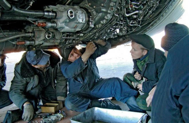 В Ульяновске развивается техобслуживание самолетов Boeing 747, Ан-124, Ил-76