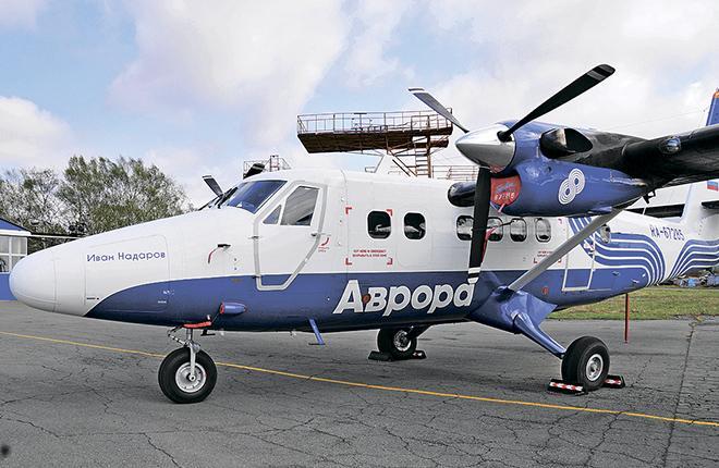 "Авиакомпания ""Аврора"" активировала автопилот на Twin Otter"