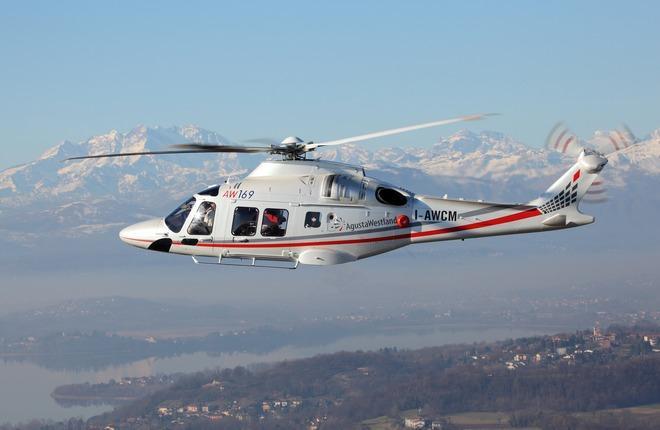 Вертолет AW169