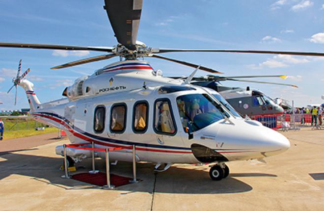 «ЮТэйр» используют вертолеты AW139 для пассажирских, корпоративных и VVIP-перево