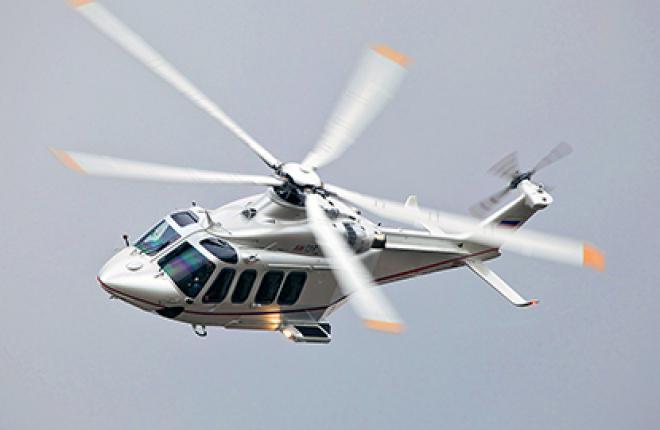 «ЮТэйр» полетела на AW139
