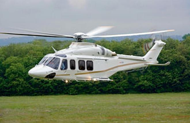 The first AW139 was delivered in Russia in April