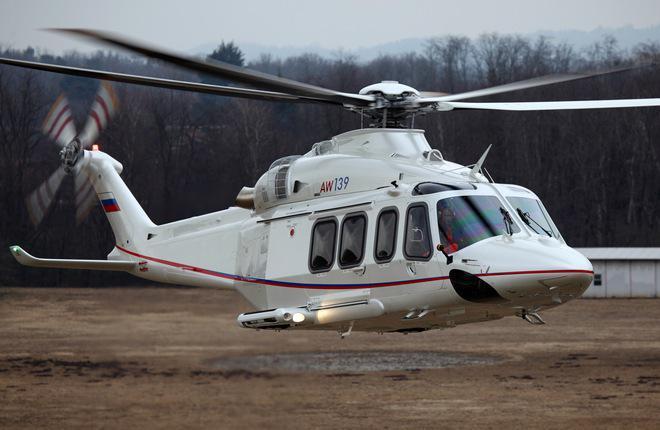 Вертолет AW139 облегчат за счет термопластика