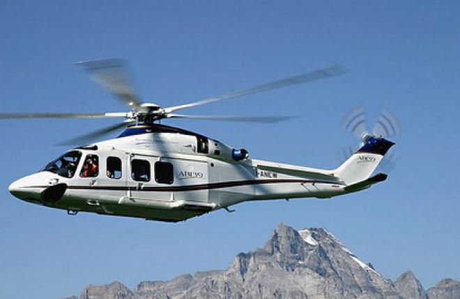 """ЮТэйр"" начала эксплуатацию вертолетов AgustaWestland AW139"