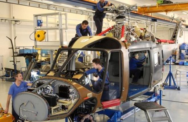 Запущено серийное производство вертолетов AW169