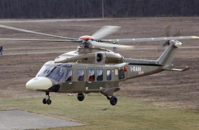 Состоялся первый полет серийного AgustaWestland AW189