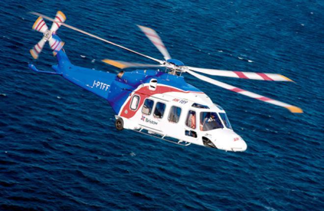 Первым эксплуатантом AW189 станет вертолетный оператор Bristow Group