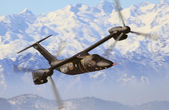 AgustaWestland приступила к сертифицикационным испытаниям коммерческого конвертоплана AW609