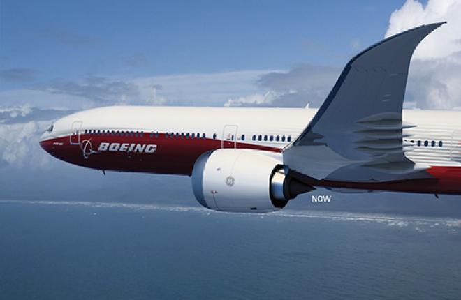 Внешний облик самолета Boeing 777X изменился