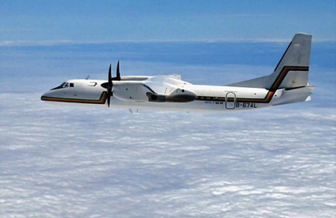 Китай предлагает замену Ан-24 - региональный турбовинтовой самолет MA60