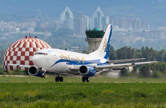Казахстанская авиакомпания SCAT будет развивать хаб в Астане