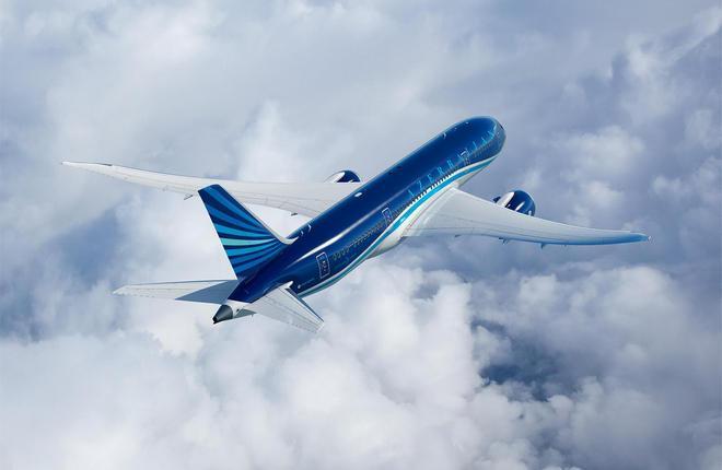 Самолет Boeing 787-8 авиакомпании AZAL