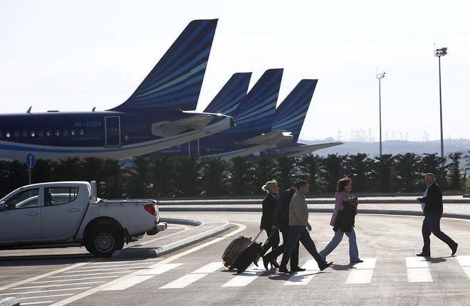 Пассажиропоток аэропорта Баку вырос на 31%