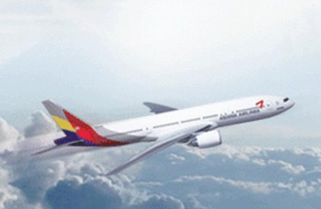 Авиакомпания Asiana Airlines полетела во Владивосток