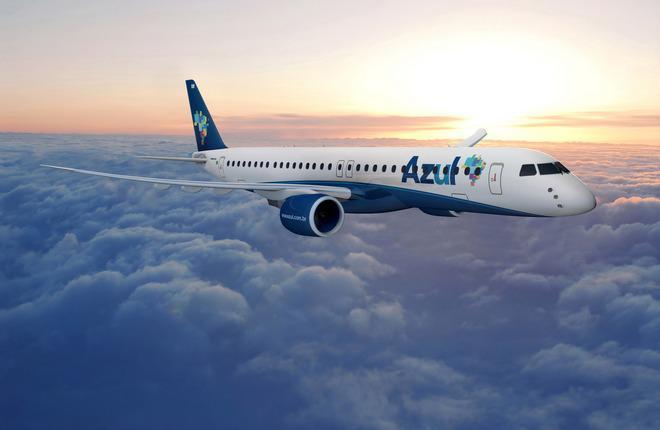 Стартовым эксплуатантом E195-E2 станет бразильская авиакомпания Azul